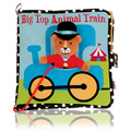Big Top Animal Train Book -