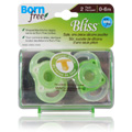 Bliss Button Pacifier Neutral -