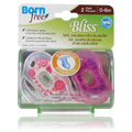 Bliss Handle Pacifier Pink -