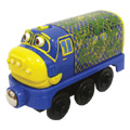 Wooden Railway Camouflage Brewster Engine -