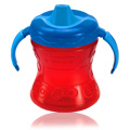 Gerber Graduates fun grips w/seal zone 2-handle trainer soft spout sippy cup 7oz, 1pk, 6m+ -