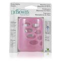 Glass Bottle Sleeve Pink -