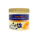 Tangerine Herbal Salt Scrub