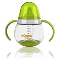 mOmma Spill Proof Cup w/ Dual Handles Green -