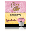 Gourmet Single Cup Coffee English Breakfast Bigelow Traditional Tea -