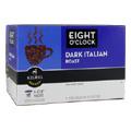 Gourmet Single Cup Coffee Dark Italian Roast Eight O'Clock -