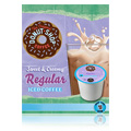 Gourmet Single Cup Coffee Sweet & Creamy Regular Iced Coffee Donut House Collection -