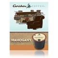 Gourmet Single Cup Coffee Mahogany Caribou Coffee -