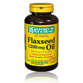 Organic Flaxseed Oil 1200mg