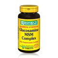 Maximum Strength Glucosamine/MSM Complex -