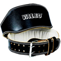 VRL Leather Lifting Belt Black 6 in XL