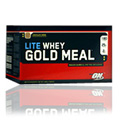 Whey Gold Meal Lite Strawberries & Cream -