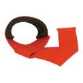 Padded Dead Lift Strap Red