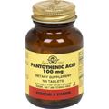 Pantothenic Acid 100 mg -