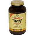 Vitamin C 500 mg Chewable Tablets - Juicy Orange Flavor
