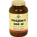 Vitamin E 200 IU Dry -