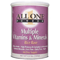 Multiple Vitamins & Minerals Rice Base