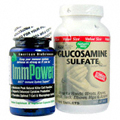 Immpower & FlexMax Glucosamine Sulfate -
