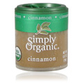 Simply Organic Cinnamon Ground 3% Oil