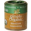 Simply Organic Mexican Seasoning