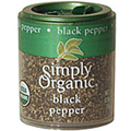 Simply Organic Black Pepper Medium Grind -