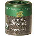 Simply Organic Poppy Seed Whole -