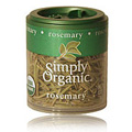 Simply Organic Rosemary Leaf Whole -