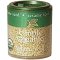 Simply Organic Sesame Seed Whole -
