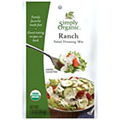 Simply Organic Ranch Salad Dressing -