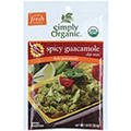 Simply Organic Spicy Guacamole Dip Mix 