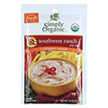 Simply Organic Spicy Southwest Ranch Dip Mix