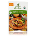 Simply Organic Spicy Taco Seasoning Mix -