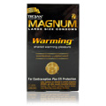 Trojan Magnum with Warming Lube