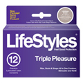 Lifestyles Triple Pleasure -