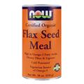 Organic Flax Meal Fiber Can