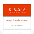 ORANGE & SANDAL MASQUE -