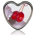 Cherry Heart Massage Candle -