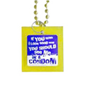 Beads Condom 'If you think I look good now…' -