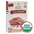Simply Organic Cocoa Biscotti Mix -
