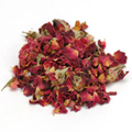 Rose Buds & Petals Red -