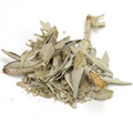 Sage Leaf White Whole -
