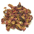 Rose Buds & Petals Red Organic -