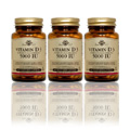 3 Bottles of Vitamin D3 5000 IU -