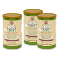 3 Bottles of Iso Soy Natural Chocolate Caramel Flavor -