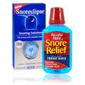 Snore Relief Device with Throat Rinse