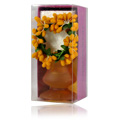 Light Orange Candle Holder -