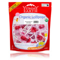Organic Lollipops Strawberry Smash -