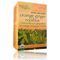Imperial Organic 100% Organic Orange Ginger Rooibus Chai Tea -