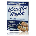 Adult Nasal Strips Clear Small/Medium -