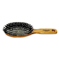 Hairbrush Pneumatic Oval Oak Handle -
